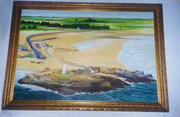 Pintura Praia de Pedra do Sal
